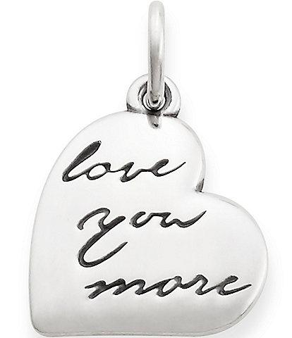 James Avery Love You More Pendant