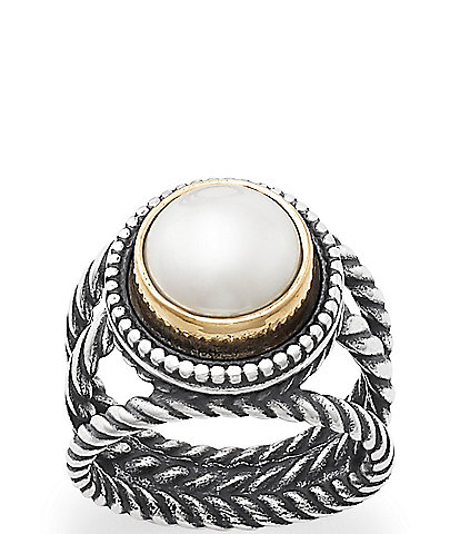 James Avery Marjan Cultured Pearl Ring