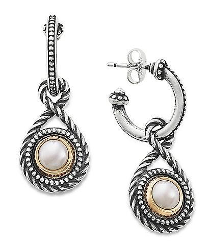 James Avery Marjan Pearl Hoop Earrings