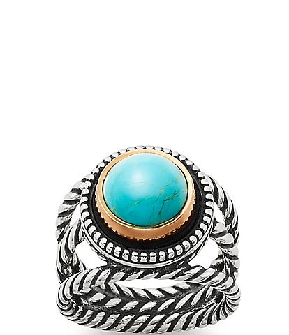 James Avery Marjan Sterling Silver Turquoise Ring