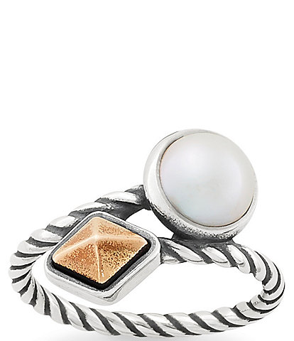 James Avery Marlowe Ring with Cultured Pearl