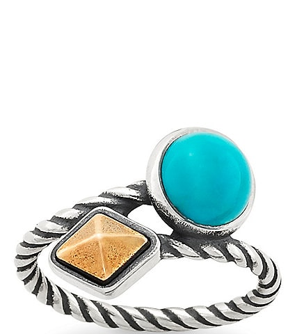 James Avery Marlowe Ring with Turquoise
