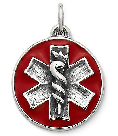 James Avery Medical Charm