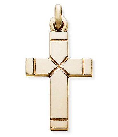 James Avery Medium Plain Latin Cross Pendant
