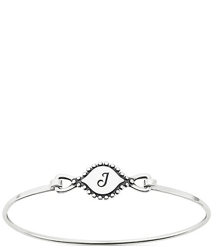 James Avery Memoir Initial Hook-On Bracelet