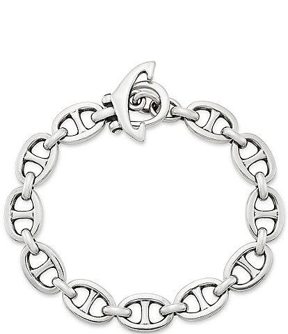 James Avery Men's Anchor Link Bracelet