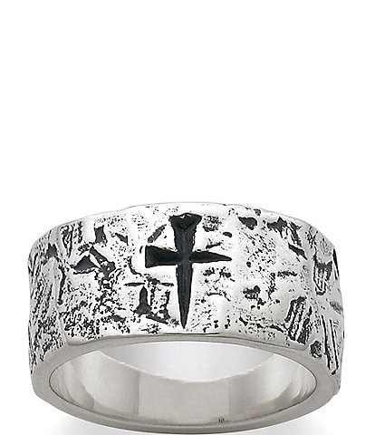 James Avery Men's Mark Of the Cross Ring