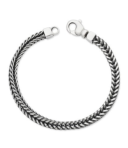 James Avery Men's Square Foxtail Bracelet