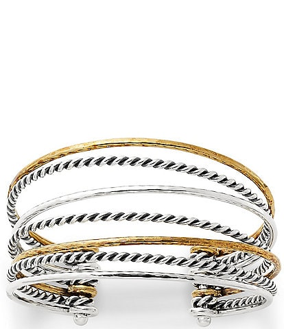 James Avery Multi-Layered Cuff Bracelet
