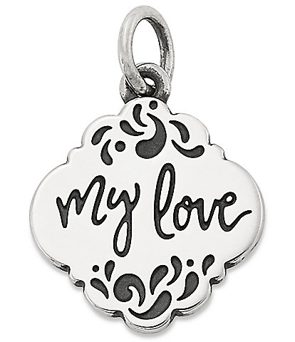 James Avery #double;My Love#double; Charm