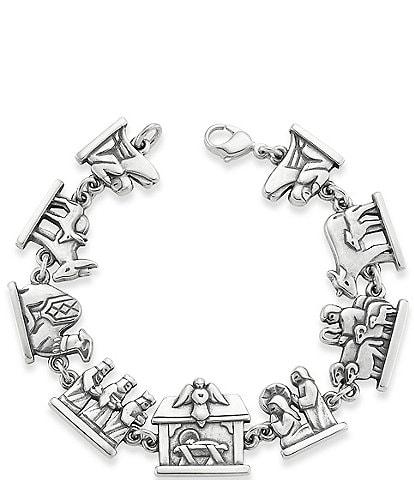 James Avery Nativity Link Bracelet