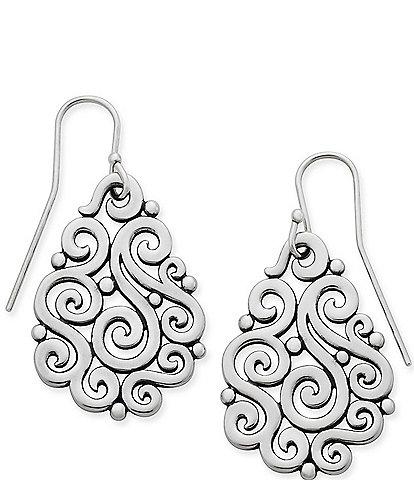 James Avery Open Sorrento Sterling Silver Drop Earrings