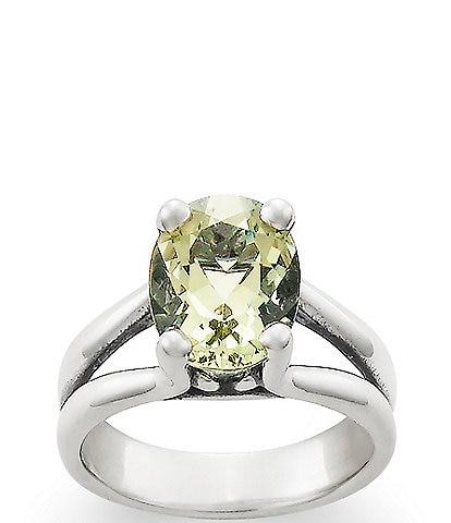 8644b49ac8 James Avery Oval Gemstone Ring with Prasiolite