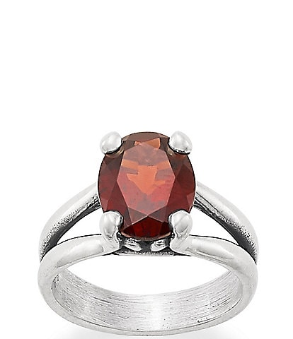 James Avery Oval Gemstone Ring