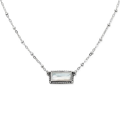 James Avery Palais Blanc Doublet Necklace