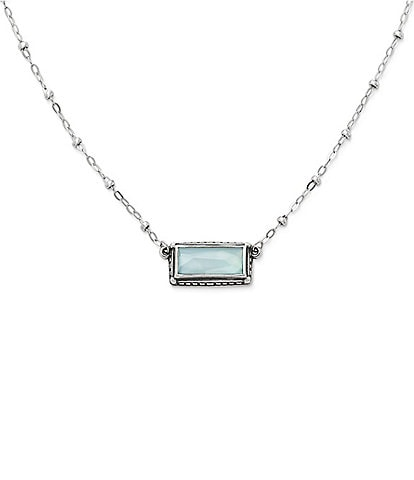 James Avery Palais Bleu Clair Triplet Necklace