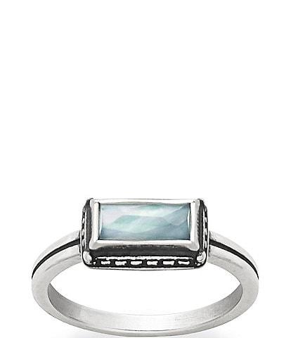 James Avery Palais Bleu Clair Triplet Ring