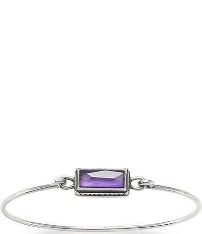 James Avery Palais Violet Doublet Hook-On Bracelet