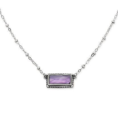 James Avery Palais Violet Doublet Necklace