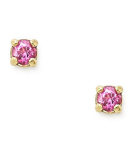 James Avery Petite Birthstone Ear Posts with Lab-Created Sapphires
