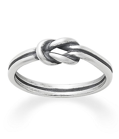 james avery petite lovers knot ring