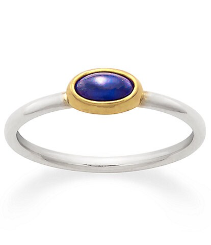 James Avery Petite Lab-Created Blue Sapphire September Birthstone Ring