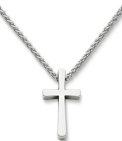James Avery Plain Latin Cross Pendant Necklace