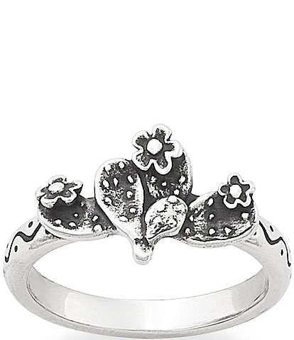 James Avery Prickly Pear Cactus Ring
