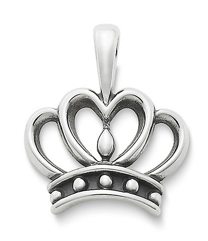 James Avery Queen Of Hearts Pendant
