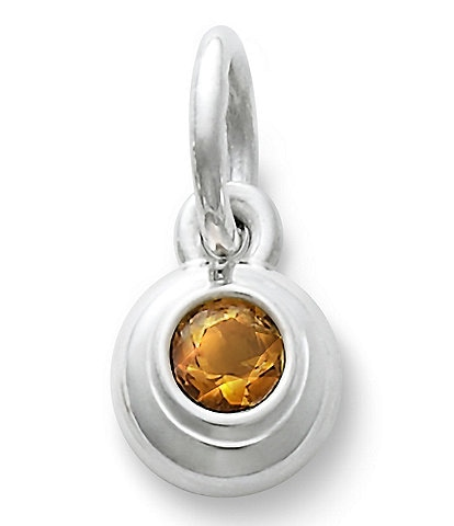 James Avery Remembrance Pendant with Citrine