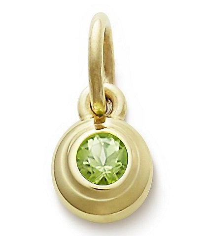 James Avery Remembrance Pendant with Peridot