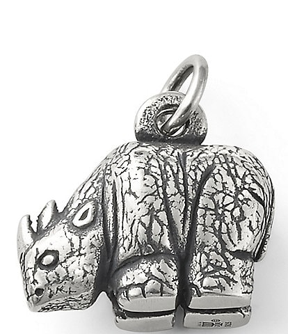 James Avery Rhinoceros Charm