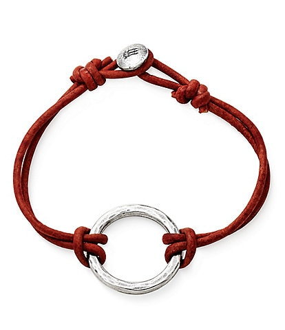 James Avery Riata Leather Charm Bracelet