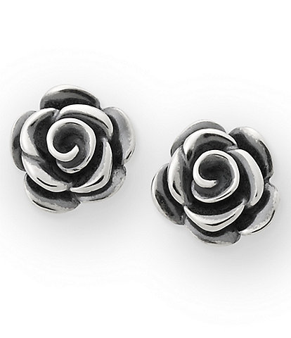 James Avery Rose Blossom Ear Posts