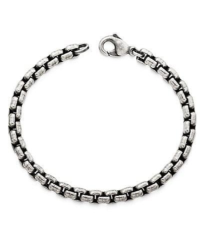 James Avery Rustic Box Link Bracelet