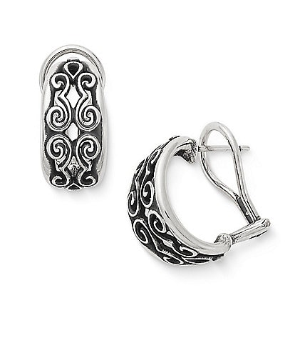 James Avery Scrolled French Clips