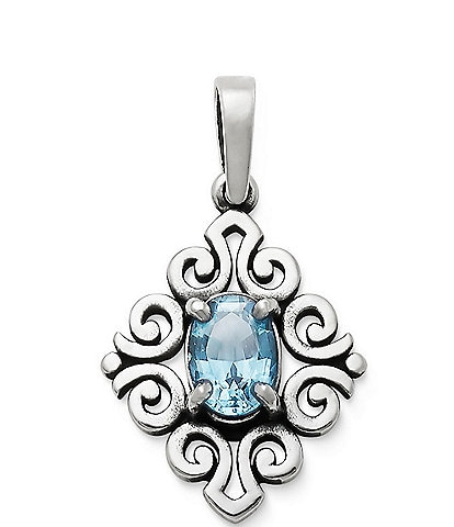 James Avery Scrolled Pendant