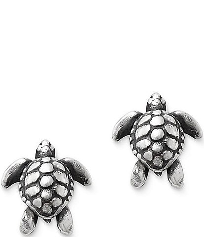 James Avery Sea Turtle Earrings