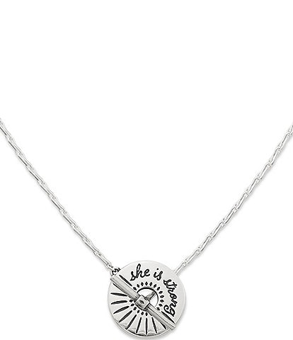 James Avery She is Strong Necklace