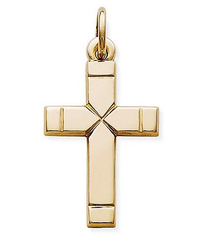 James Avery Small Plain Latin Cross Charm