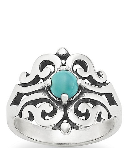 James Avery Spanish Lace Turquoise Ring
