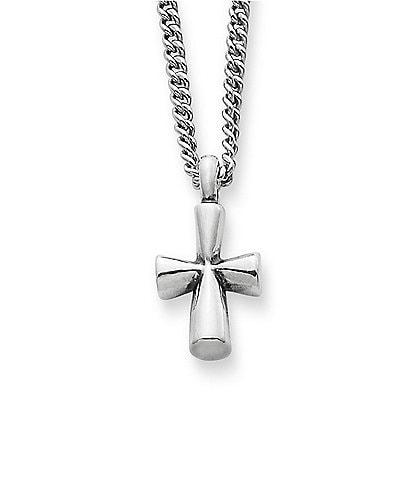James Avery St Teresa Cross Sterling Silver Pendant Necklace