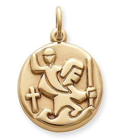 James Avery St. Christopher Medal Charm