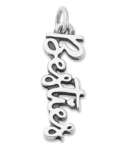 James Avery Sterling Silver Besties Charm