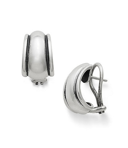 James Avery Sterling Silver Christina French Stud Earrings