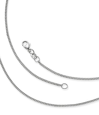 James Avery Sterling Silver Fine Curb Chain