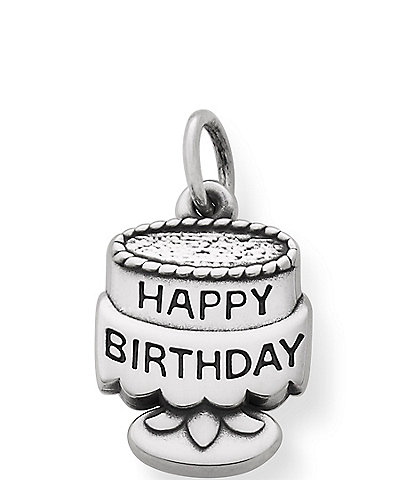 James Avery Sterling Silver Tiny Birthday Cake Charm
