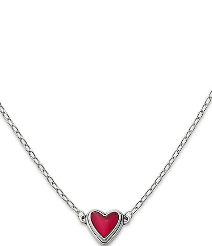 James Avery Sweetheart Rouge Doublet Necklace