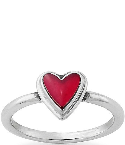 James Avery Sweetheart Rouge Doublet Ring