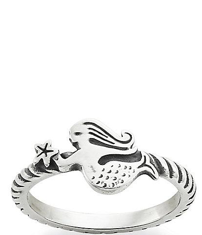 James Avery Swimming Mermaid Ring